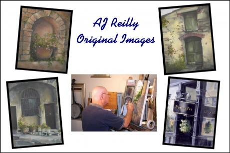 artist promotion postcard